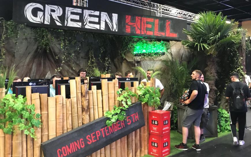 Gamescom GreenHell Creepy Jar photo by Try Evidence.jpg