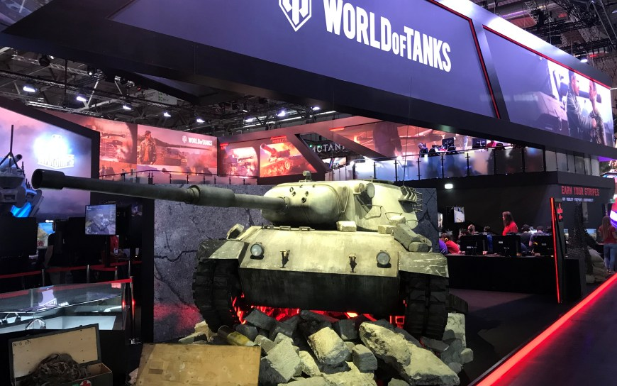 Gamescom World of Tanks photo by Try Evidence