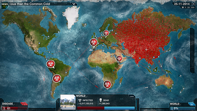 Plague Inc: Evolved © Ndemic Creations